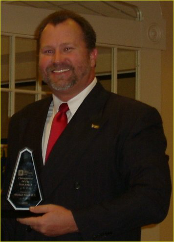 Dr. Michael Elrod, Delaware chiropractor of the year